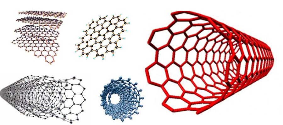 nanotube and graphen